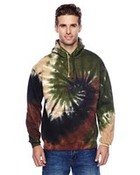 8.5 oz. Tie-Dyed Pullover Hood