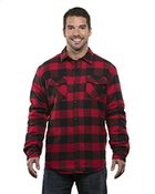 Adult Quilted Flannel Jacket