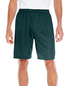 Adult 100% Polyester Mesh Tricot Nine Inch Inseam Short