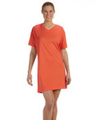 Ladies' Combed Ringspun Jersey V-Neck Coverup