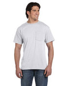 5.6 oz., 50/50 Best™ Pocket T-Shirt