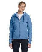 Ladies' 8 oz., 80/20 ComfortBlend® EcoSmart® Full-Zip Hood