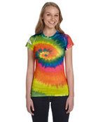 Ladies' 100% Spun Polyester with Moisture Management T-Shirt