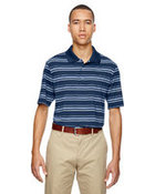 puremotion® Textured Stripe Polo